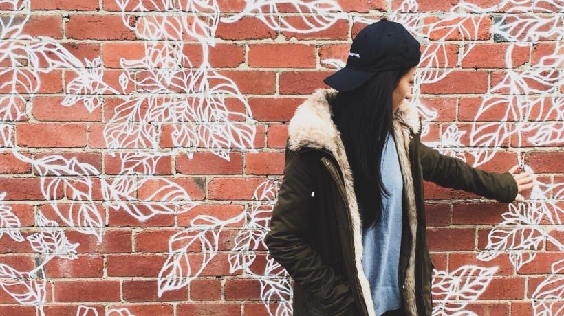 RachiePn Discovers Au79 Leaves Graffiti Wall