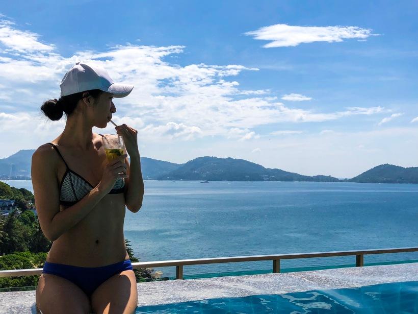 phuket poolside drink