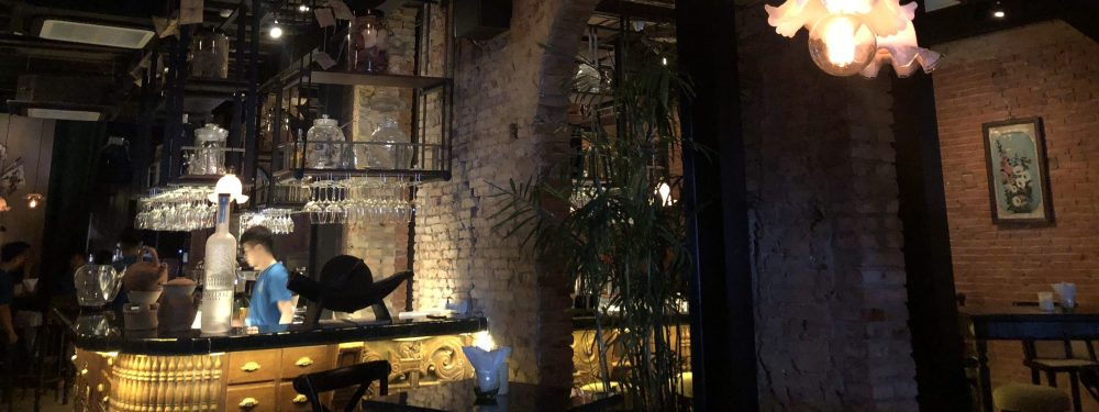 Apothecary speakeasy, ChinChin cocktail bar in Ho Chi Minh City (Saigon), Vietnam