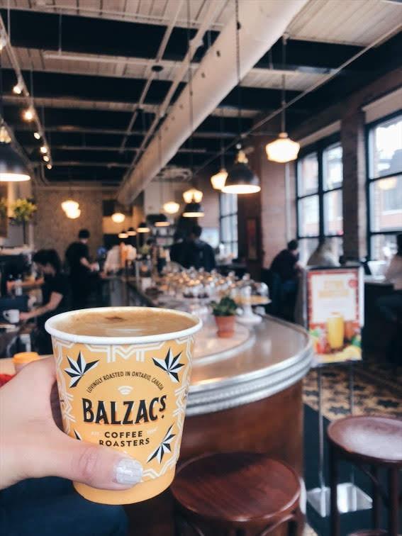 Flat White from Balzac's